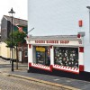 Corner barber's shop - How Street, Plymouth