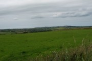 Farmland north-west of the Manaddwyn-Capel Parc road