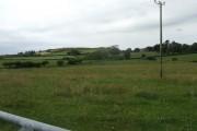 Farmland opposite Cwyrt-bach