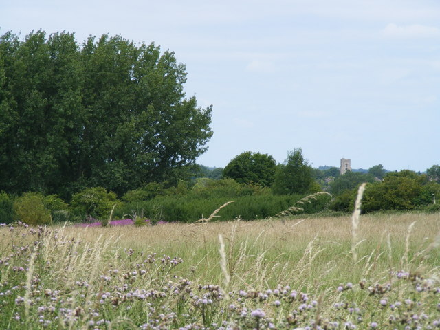 View across fields from New Mill towards Marsworth