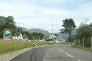 Entering Strathcarron on the A890