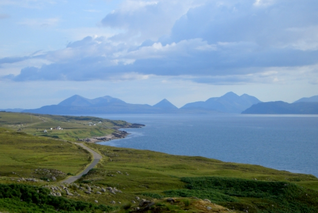 Coastline near Cuaig.