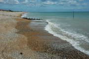 Pebble beach at Kingsdown