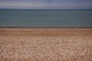Looking out to sea at Pagham