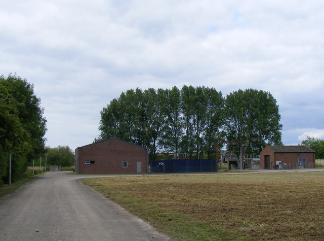 Buildings at Tring Sewage Treatment Works