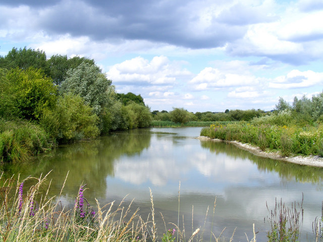 The bird reserve adjacent to Tring Sewage Works - the lagoon
