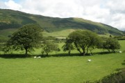 The  Afon Fathew valley