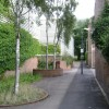Public footpath beside Rangemaster works, Leamington Spa