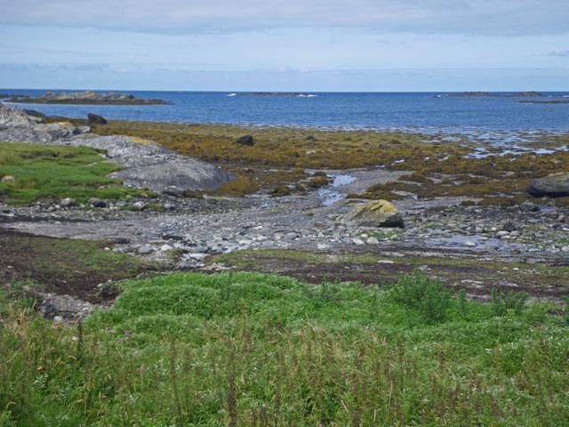 Quiet cove at Port Mor