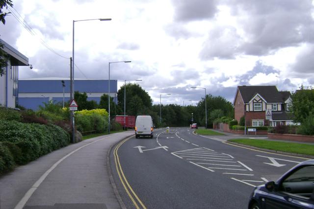 The south end of Queensway, Leamington Spa