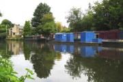 Grand Union Canal at Hunton Bridge