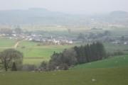 Looking down on Llanuwchllyn