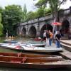 Boat rentals by Magdalen Bridge