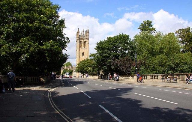 Magdalen Bridge in Oxford