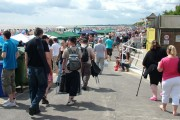 Spectators for Air Show, Lowestoft South Beach