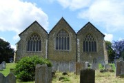 The rear of the Parish Church of St Mary the Virgin Westerham