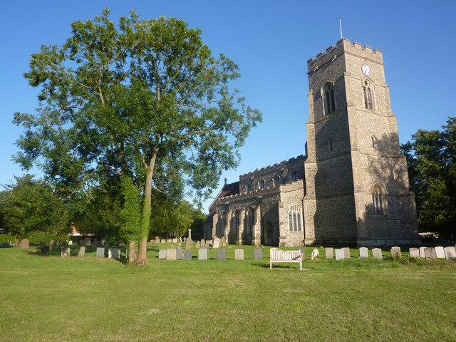 All Saints Church, Lawshall