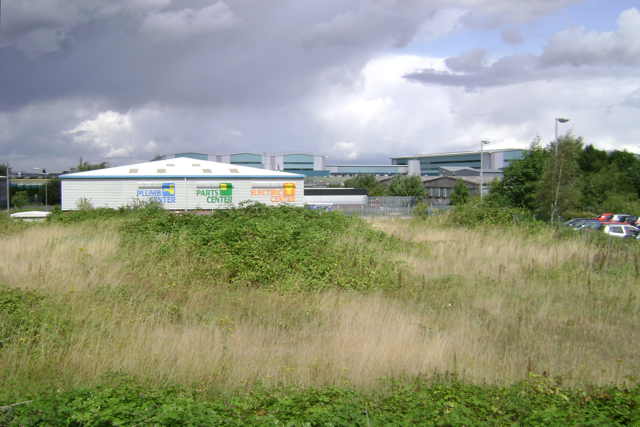 Vacant plot, Titan Business Centre, south Leamington