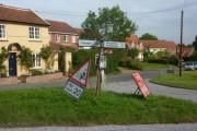 Village scene, Cretingham
