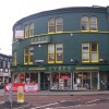 Saltergate at the junction with Cavendish Street, Chesterfield