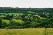 View across Sheepscombe