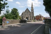 Gillingham: Town Bridge and the Methodist church