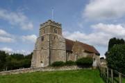 Kington Magna: the church from the south