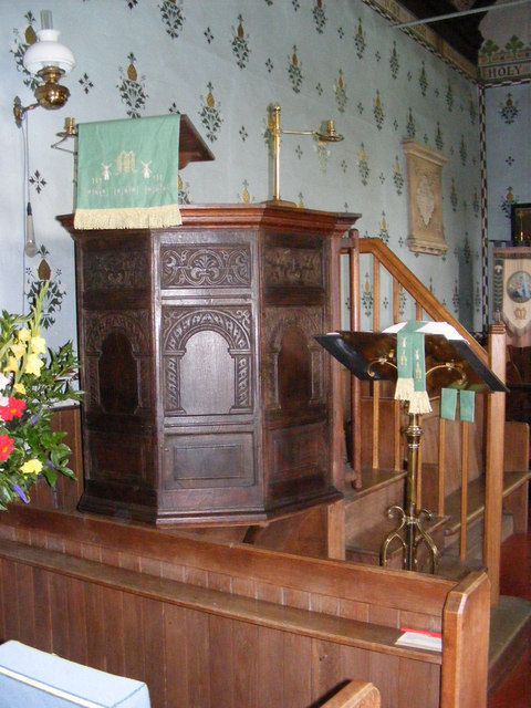 The Pulpit of St Mary Magdalene C of E, Friston