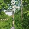 Old Road Sign, Finstock (B4022)
