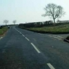 Church Lane crossroads east of Kirkby Hill