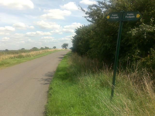 Footpath Sign