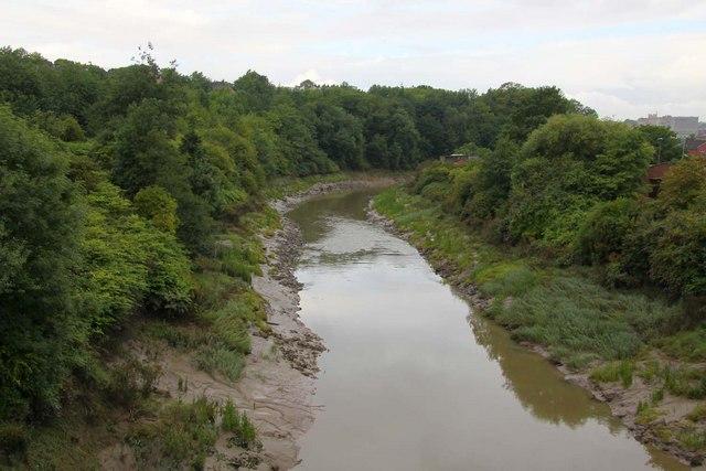 River Avon from Totterdown Bridge