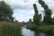 River Penk downstream at Penkridge
