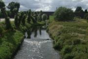 River Penk upstream at Penkridge