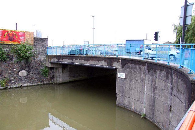 Albert Road Bridge over the Feeder Canal in Bristol