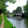 Looking south to Woodbridge Bridge, Guildford