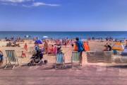 View over Alum Chine Beach