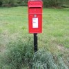 Post Office Road  Postbox