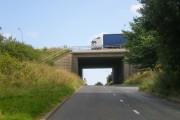 Motorway bridge (M62)