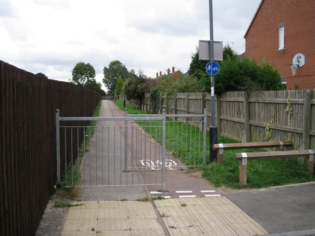 Henrys Way, end of Dobson Lane, Whitnash