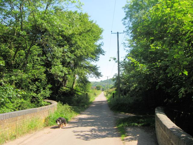 On Marshcroft Lane Canal Bridge looking North East