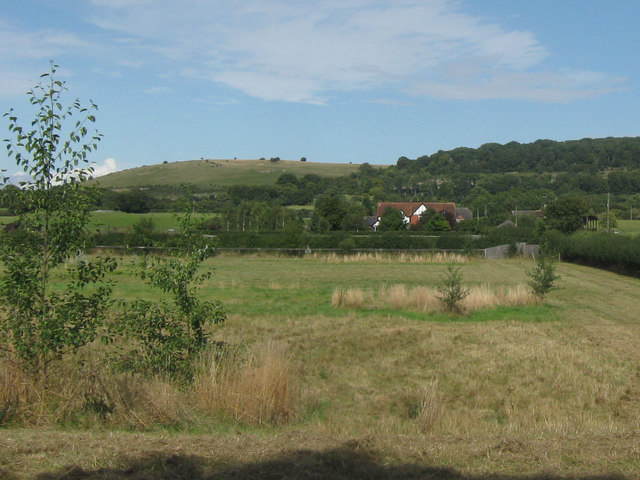 Marshcroft Farm and Pitstone Hill