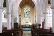 Cockfield Church interior