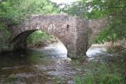 Road bridge over Afon Ysgir