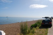 The beach west of Herne Bay