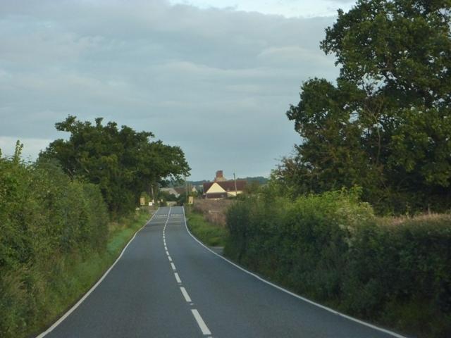 Berhill nearing Huckham Farm