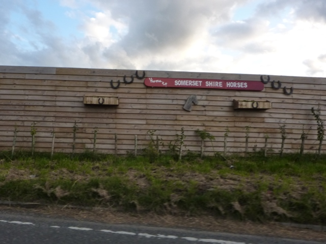 Home to Somerset Shire Horses