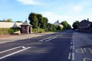 The A39 at Fairy Cross