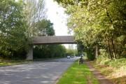 Farm bridge across Cwmbran Drive