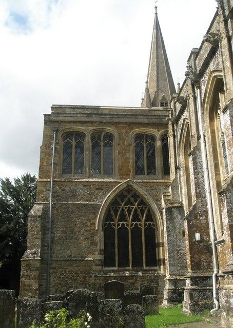 Exterior of St Mary, Adderbury (1)
